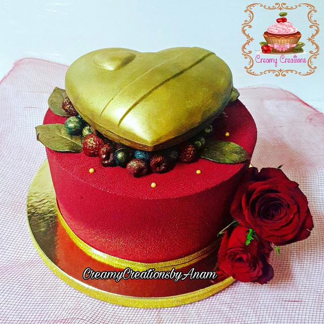 Traditional Honey cake in a Modern Avatar