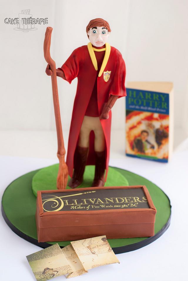 Harry Potter themed 13'th birthday cake