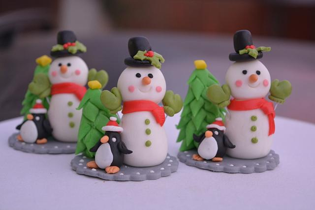 Snowman toppers