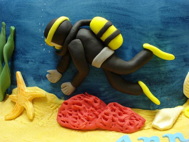 Scuba Diver/Dog Walker