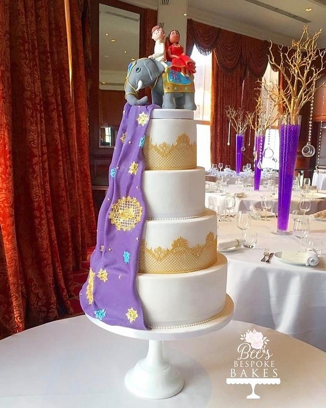 Hindu wedding cake