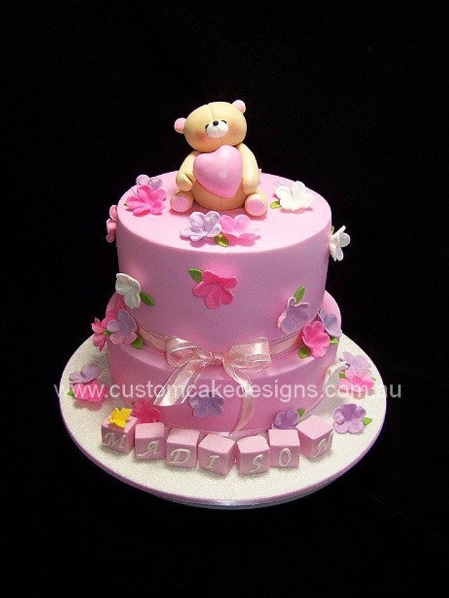 Forever Friends 1st birthday Cake