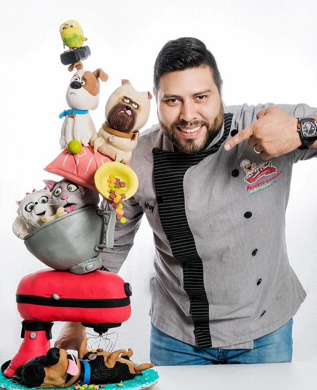 TOWER CAKE LA VIDA SECRETA DE LAS MASCOTAS