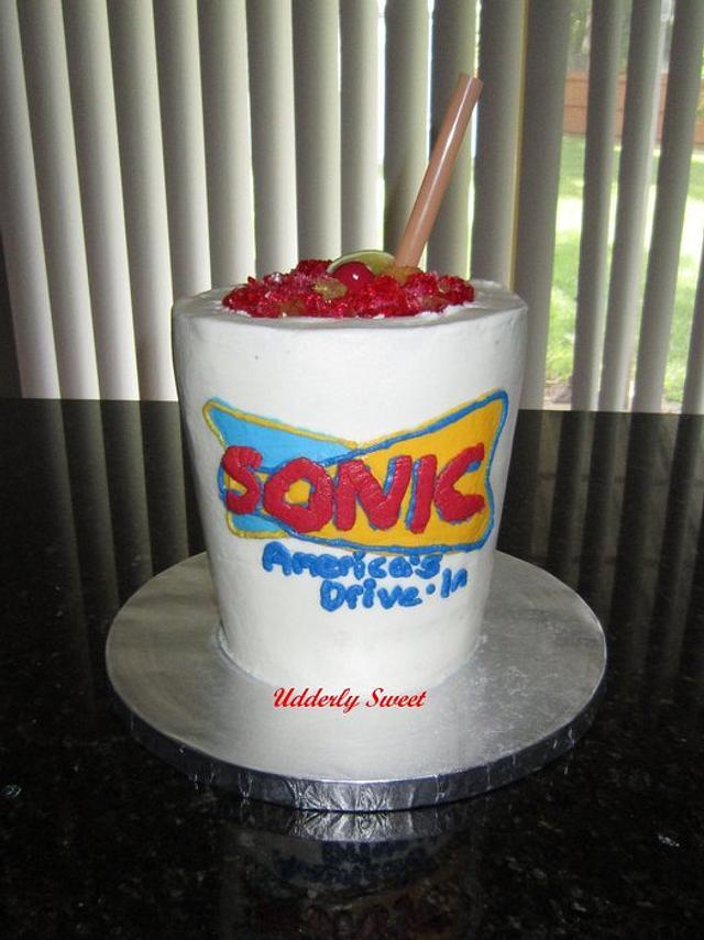 Sonic Cherry Limeade Cake