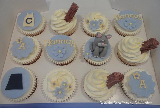 Birthday Cupcake Selection