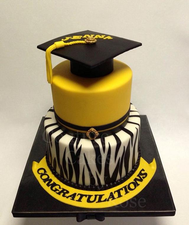 Blingtastic Graduation Cake
