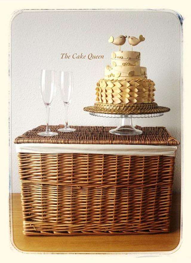 A little sweet wedding cake!!!