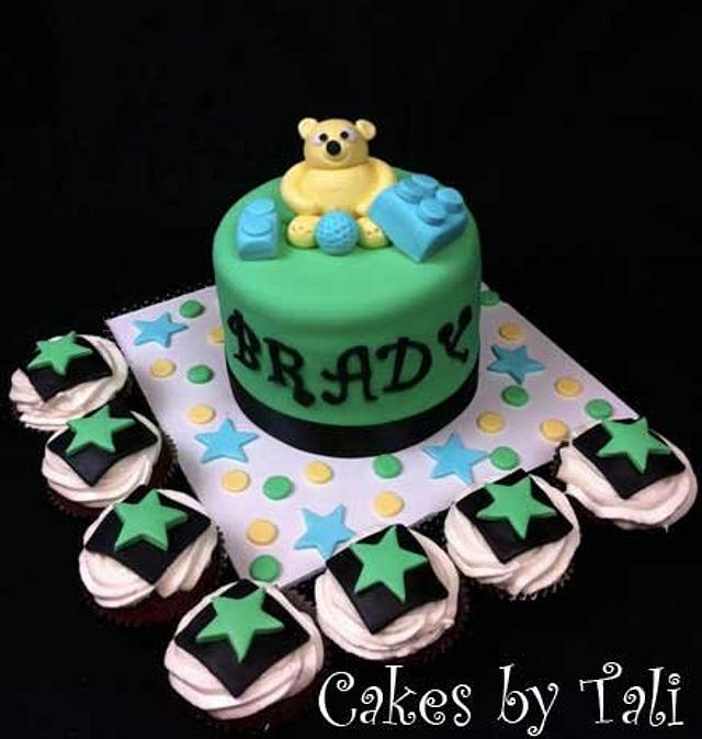 Brady's birthday cake