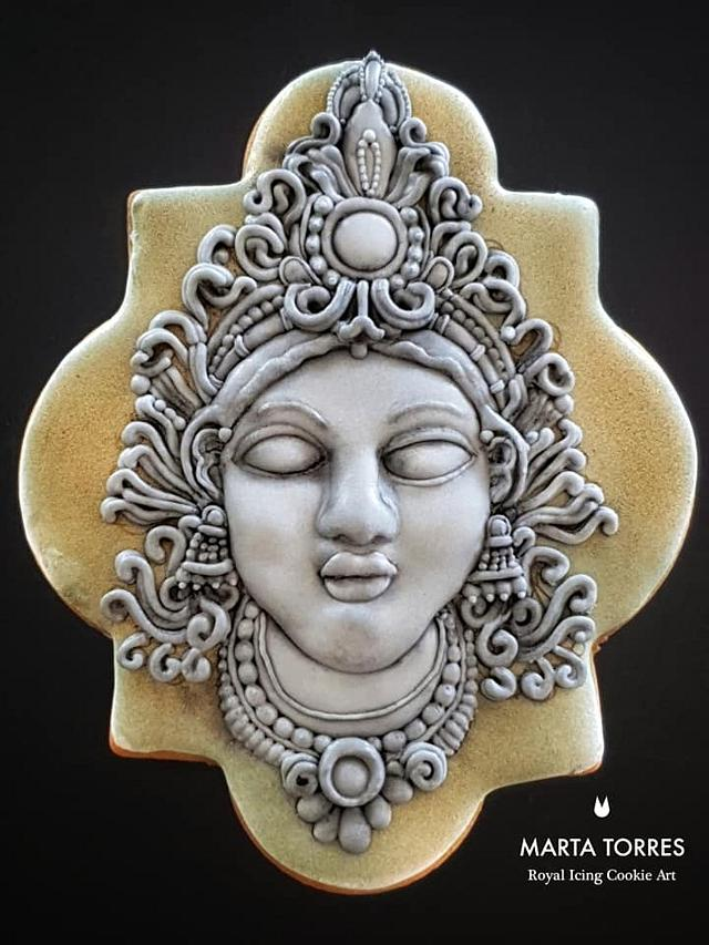 My grey/black stone Cookie - MAGNIFICENT BANGLADESH - AN ART CAKE COLLABORATION