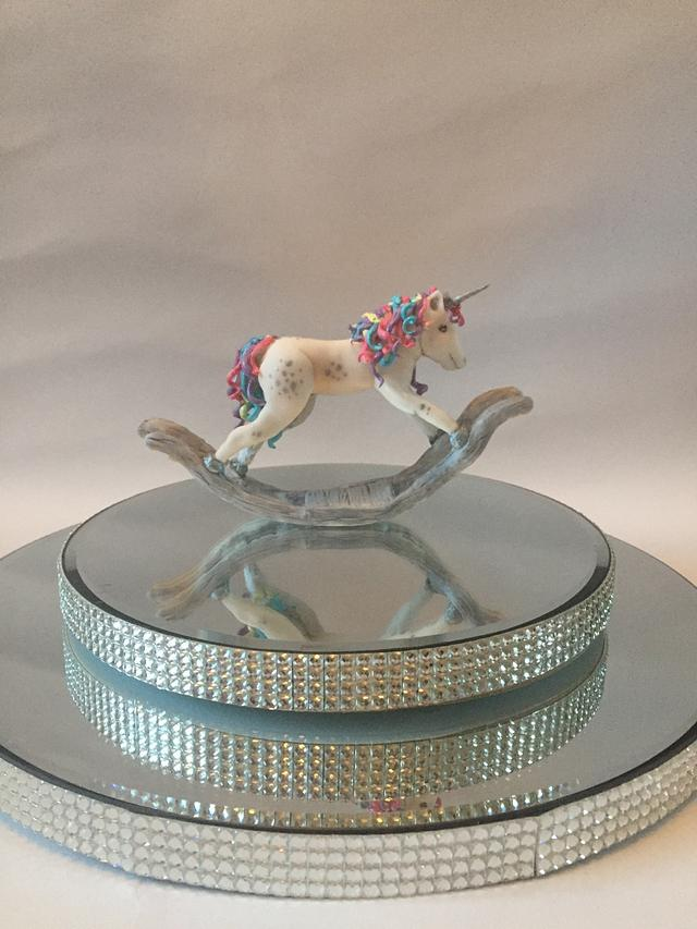 Rocking horse/unicorn topper