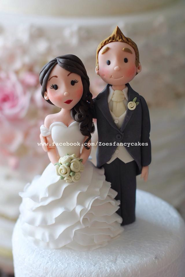 Another bride and groom topper