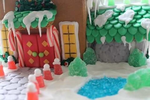 North Port gingerbread contest. 2015