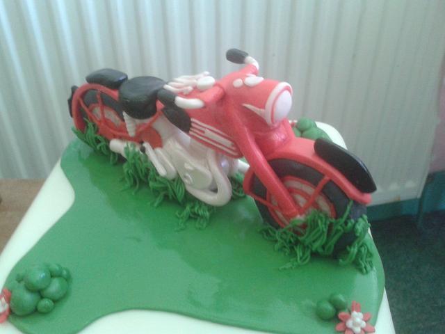 Triumph bike topper