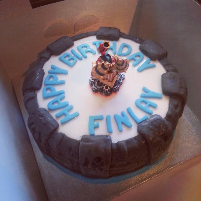 Remarkable Skylanders Birthday Cake Cake By Mummybakes Cakesdecor Birthday Cards Printable Inklcafe Filternl