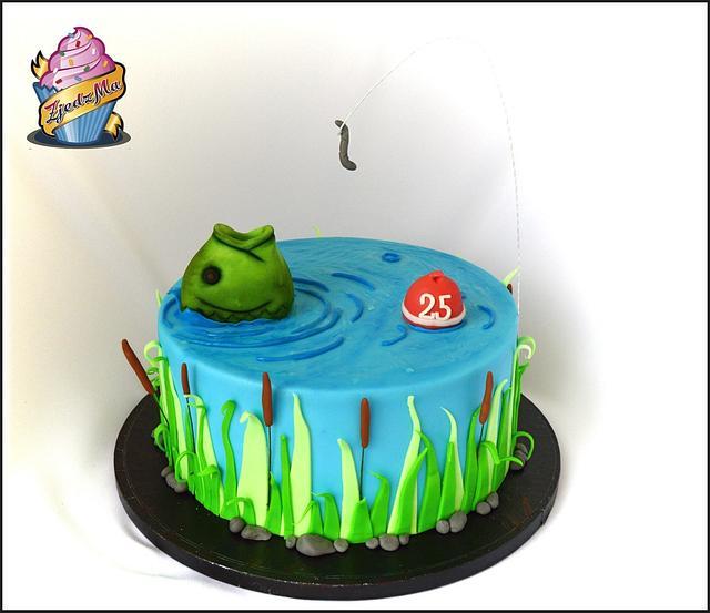 cake for fishermen