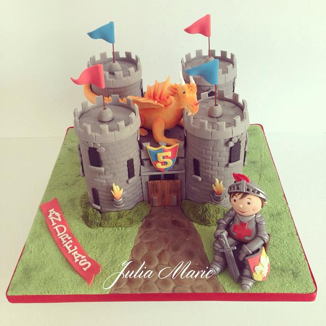 A Knight's Castle Cake