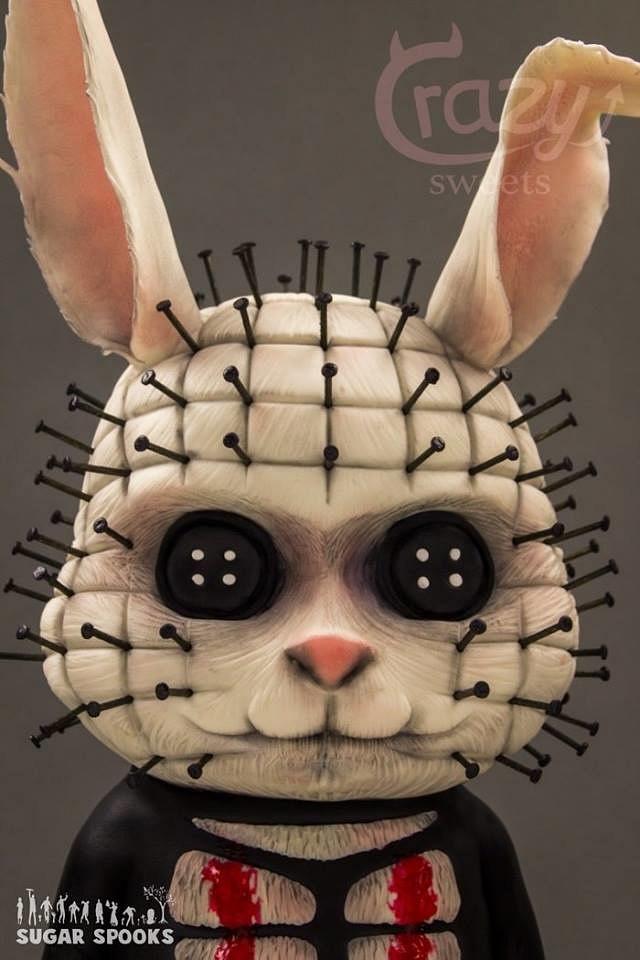 Sugar Spooks 2016 - Pinhead Bunny