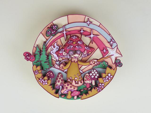 The Adventures of Magic Mushroom (2D Threadcakes Entry 2016)