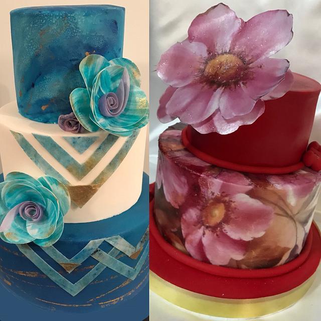 Torta Forrada En Papel De Arroz Cake By Cristina Cakesdecor