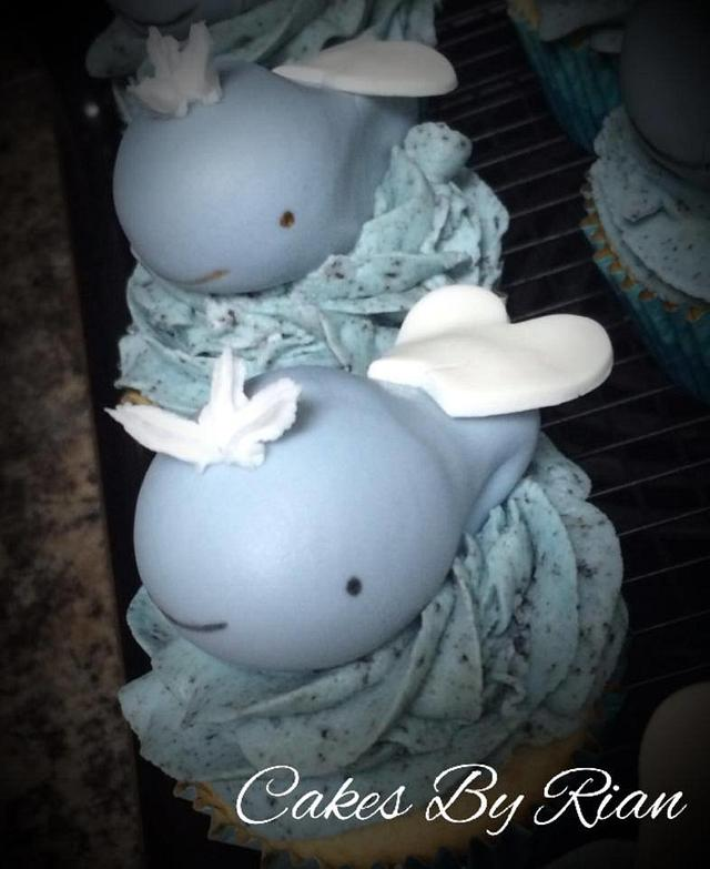 Whale Cupcakes