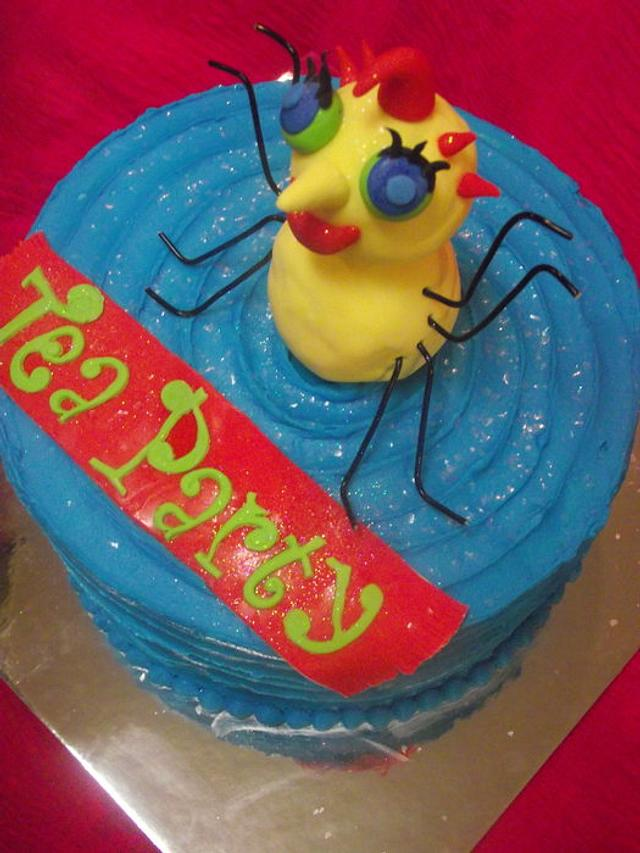 Miss Spider's Tea Party Cake!