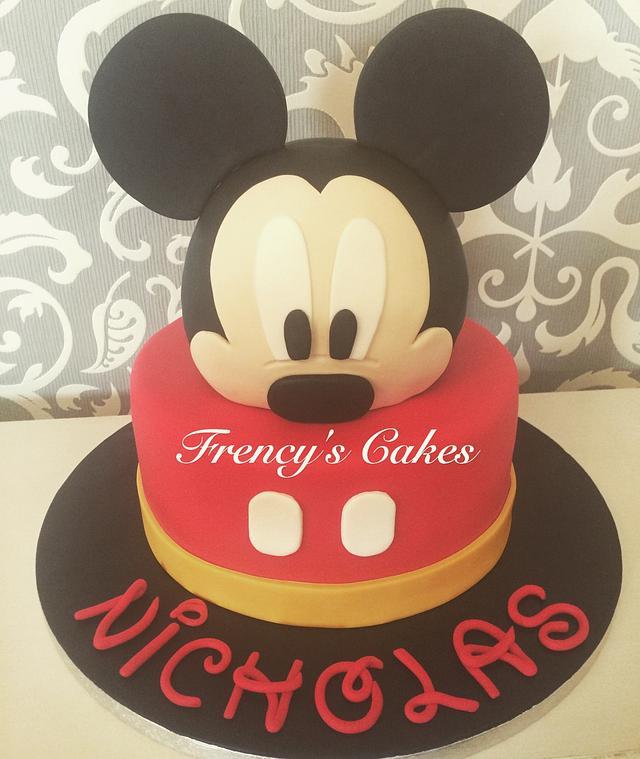 Mickeymousecake