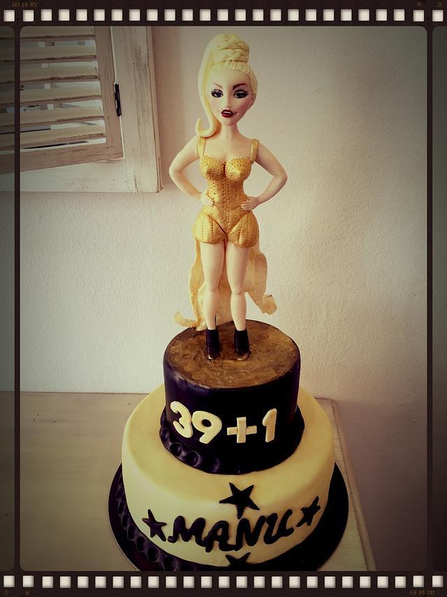 Madonna's cake
