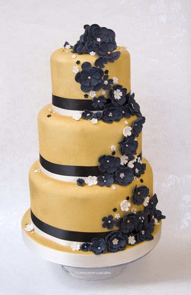 Wedding Cake - We Are Golden!