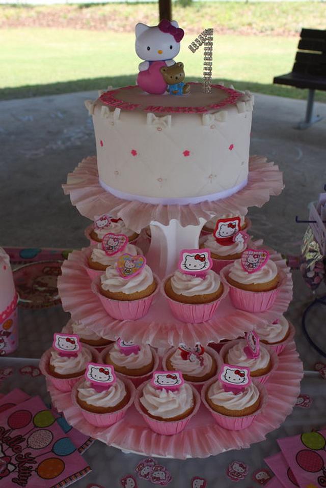 HELLO KITTY CAKE 1st B-DAY