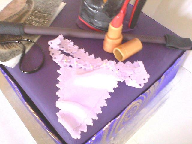 """Dirty Thirty birthday cake for a girl that likes a little horseplay... """"Thirty Shades of Bay"""""""