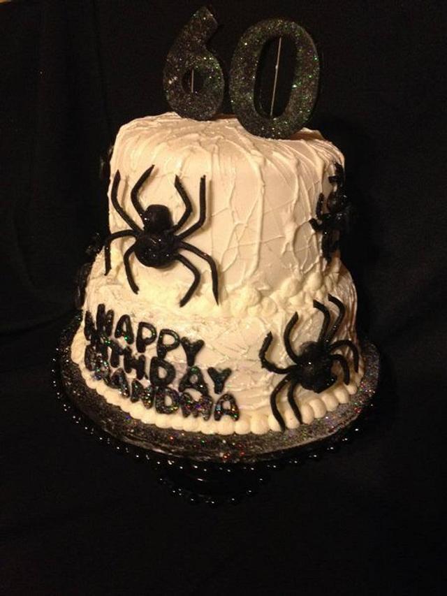Amazing Cobweb Spider Birthday Cake Cake By Beth78148 Cakesdecor Funny Birthday Cards Online Inifofree Goldxyz