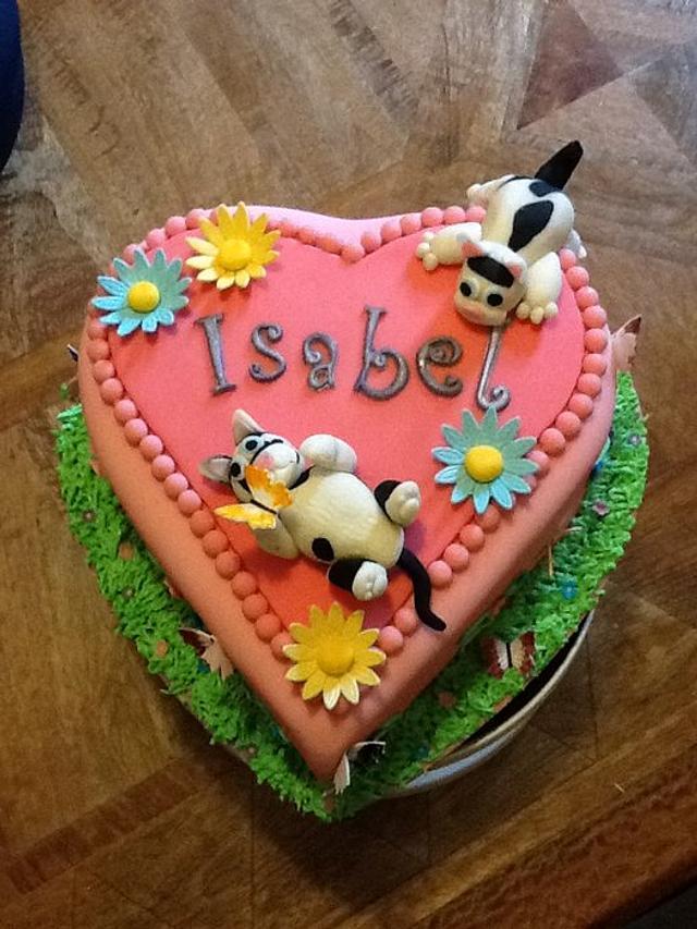 Love Cats cake