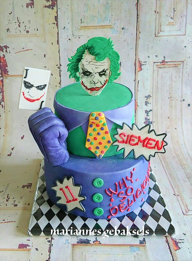 The Joker why so delicious