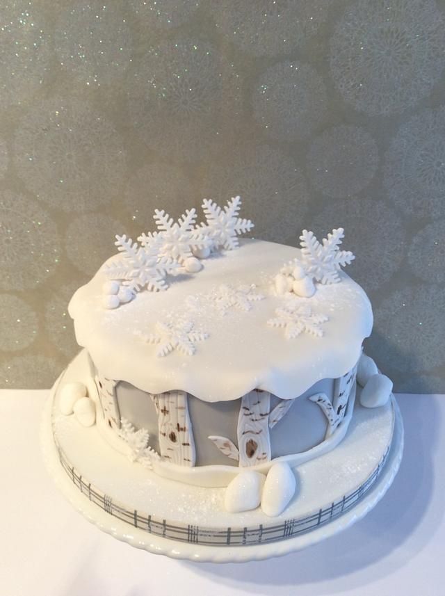 A little Christmas cake