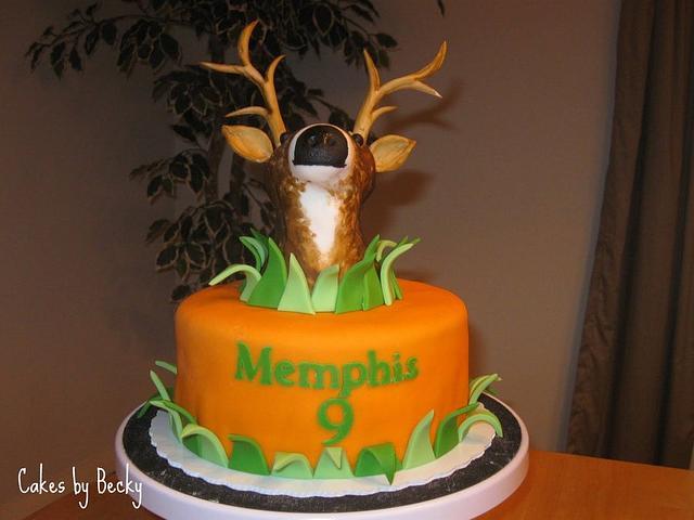 Hunter's Birthday Cake