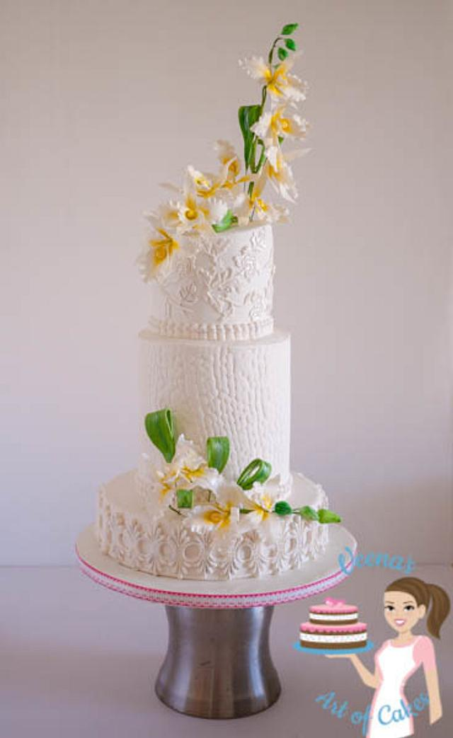Orchids White Wedding