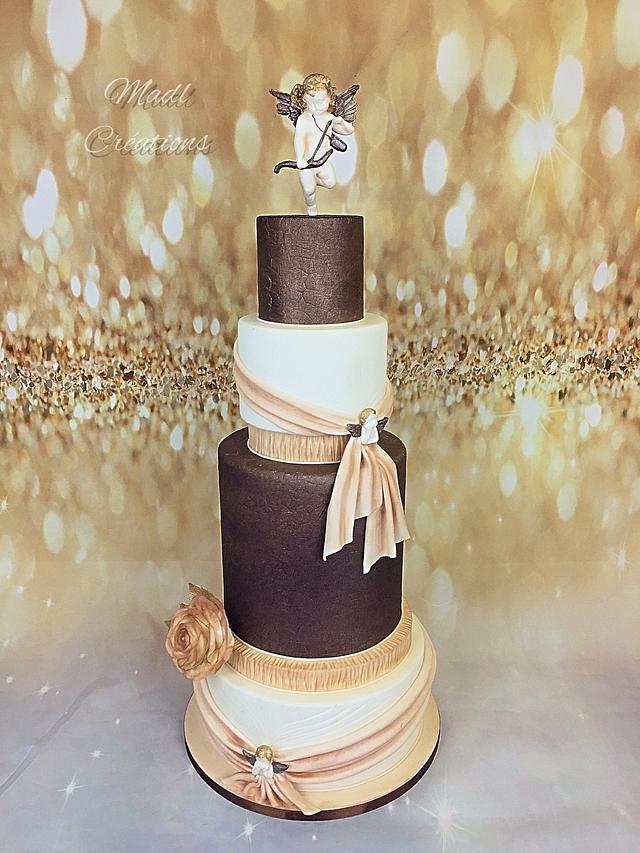 wedding cake cupidon angel's