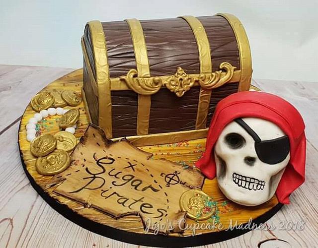 Pirate Treasure Chest - Sugar Pirates Collaboration