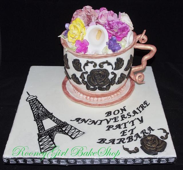 Paris Tea Cup