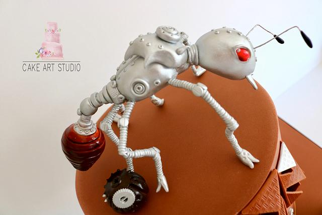 silver ant Steampunk Collaboration