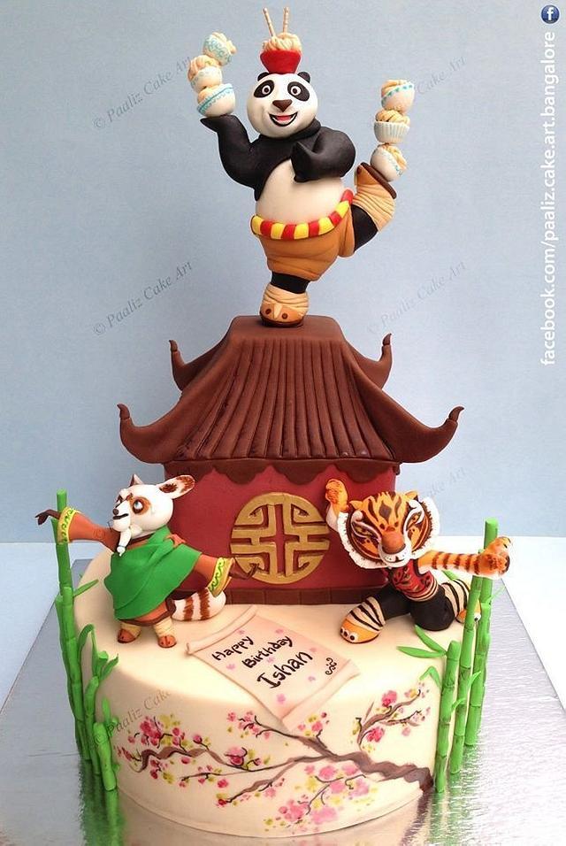 Awe Inspiring Kungfu Panda Cake Bangalore India Cake By Paaliz Cake Cakesdecor Funny Birthday Cards Online Alyptdamsfinfo