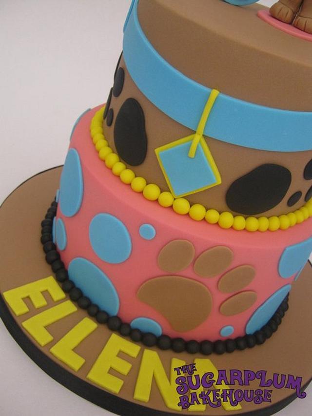 2 Tier Scrappy Doo / Scooby Doo Birthday Cake
