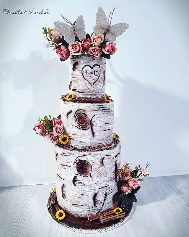 🍁Wedding cake Automne🍁