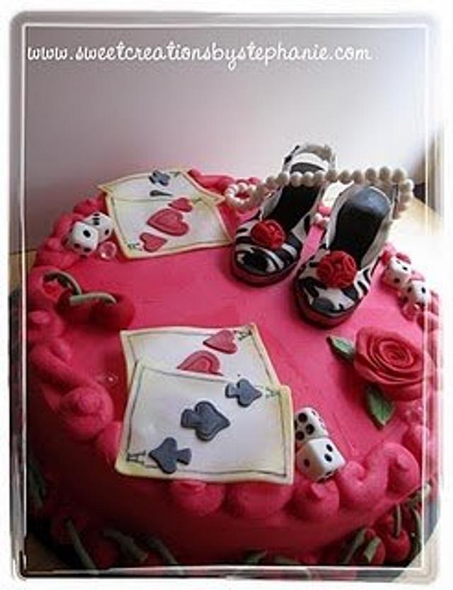 Pin Up Girl Cake