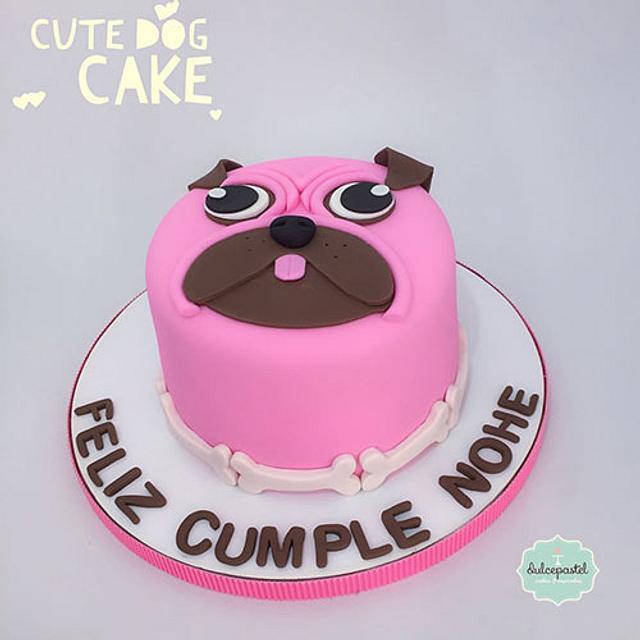 Torta Perro Pug