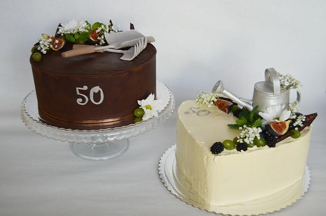 Cakes for gardener