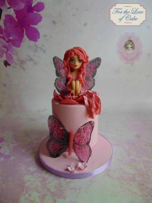 Pink fairy for Yasmine