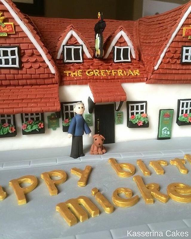 Pub cake