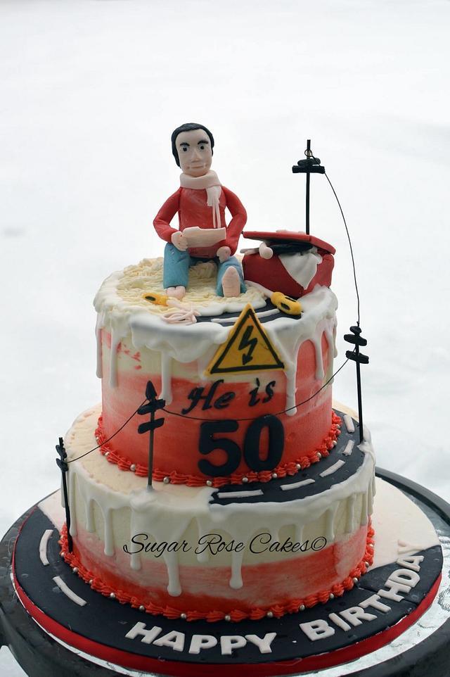 He is 50.