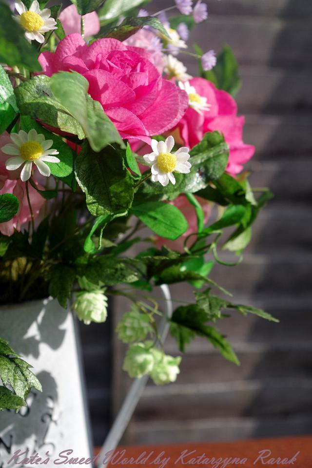 Straight from Garden - wafer paper bouquet